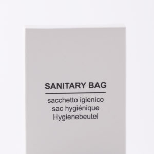 Sanitary bag - No logo - Simple white
