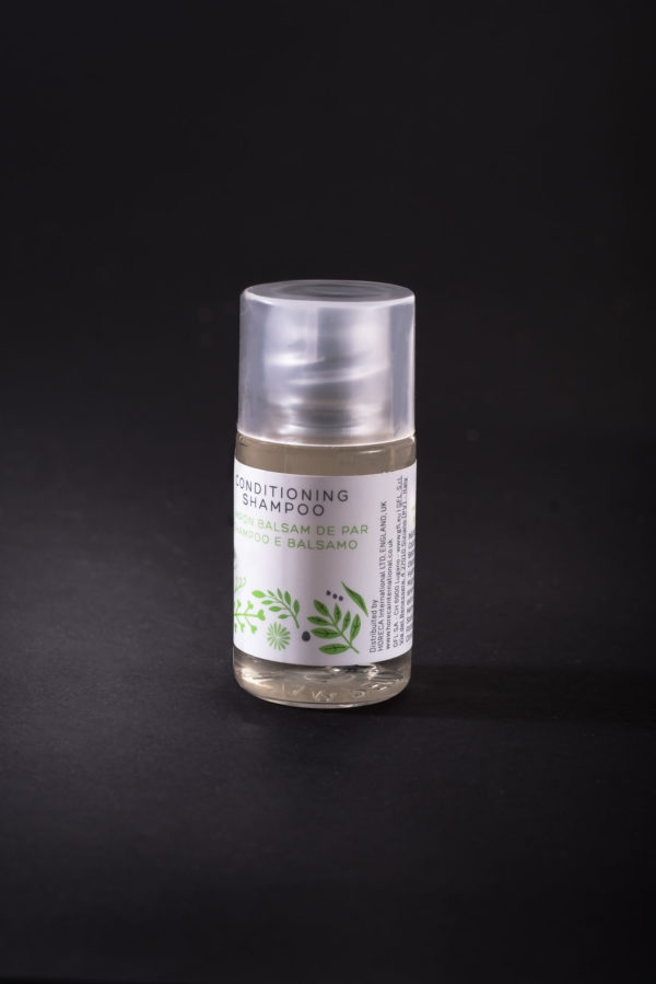 20ml Conditioning Shampoo Bottle Green Earth Lusso