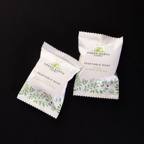100% Vegetal Soap 20g Green Earth Lusso