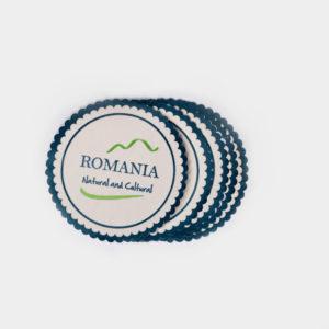 "Coaster ""Romania Natural & Cultural"""