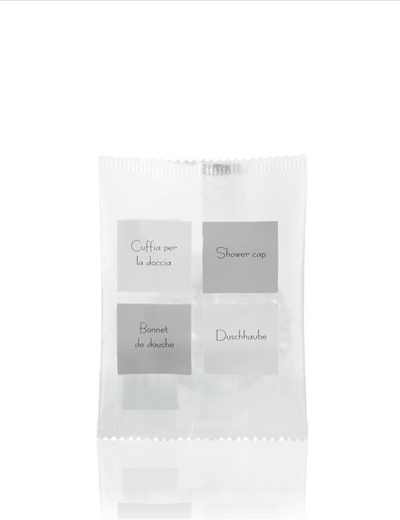 Shower Cap in Waterproof Packaging Neutra