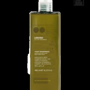 Gentle Hair & Body wash Mix 480 ml ECOlabel Certified, Anyah