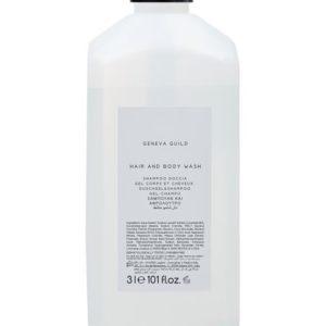 Hair & Body Wash 3L refill for dispensers Geneva Guild